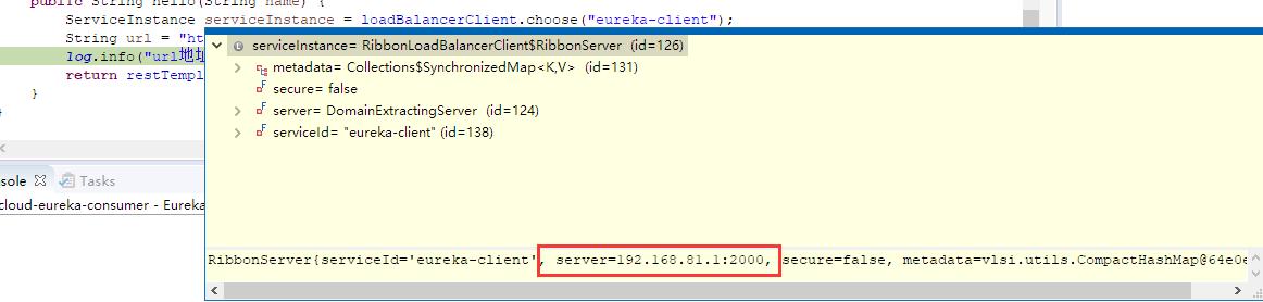 eureka-client服务实例