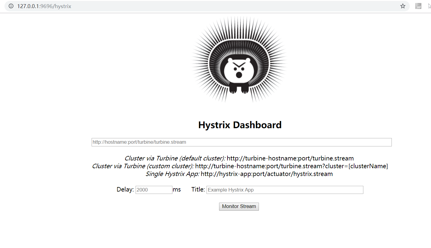 hystrix-dashboard