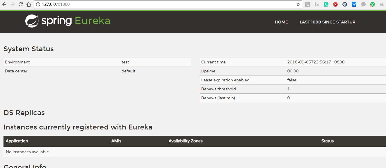 eureka界面